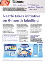 Nestle code action 2003
