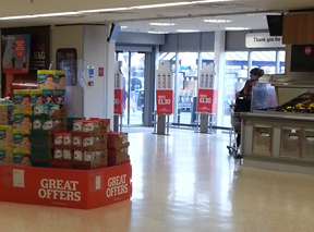 NestlŽe SMA promotion Sainsbury's Leamington Spa