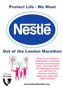 Pure Life Marathon leaflet