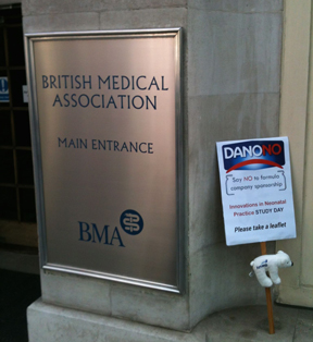 Danone study day at British Medical Association 30 April 2014