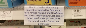 Boots Cameron Toll 14 February 2015
