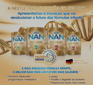 Nestle advertisement in Rio Grande do Sul Paediatric Society Jou