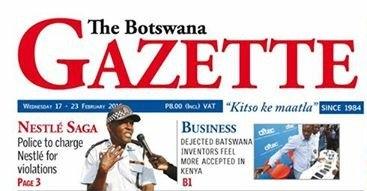 botswanagazette160216