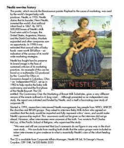 Nestlé rewrites history