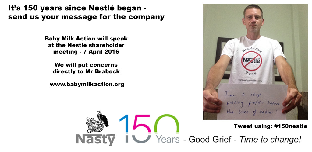 Nestle 150 year anniversary