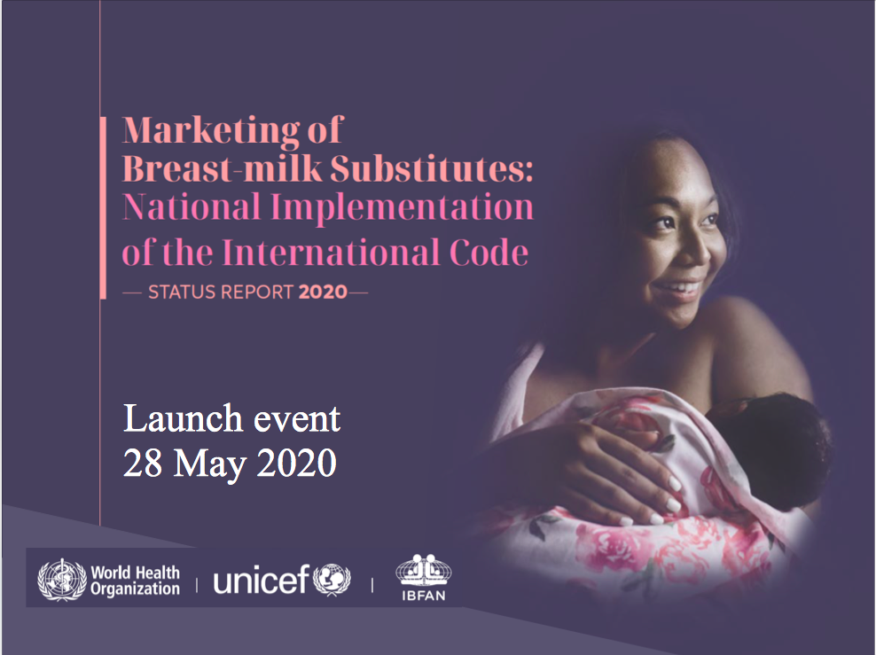Online launch of the 2020 Status Report on the National Implementation of the Code